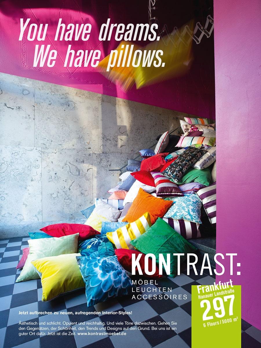 KONTRAST Interim Pillows